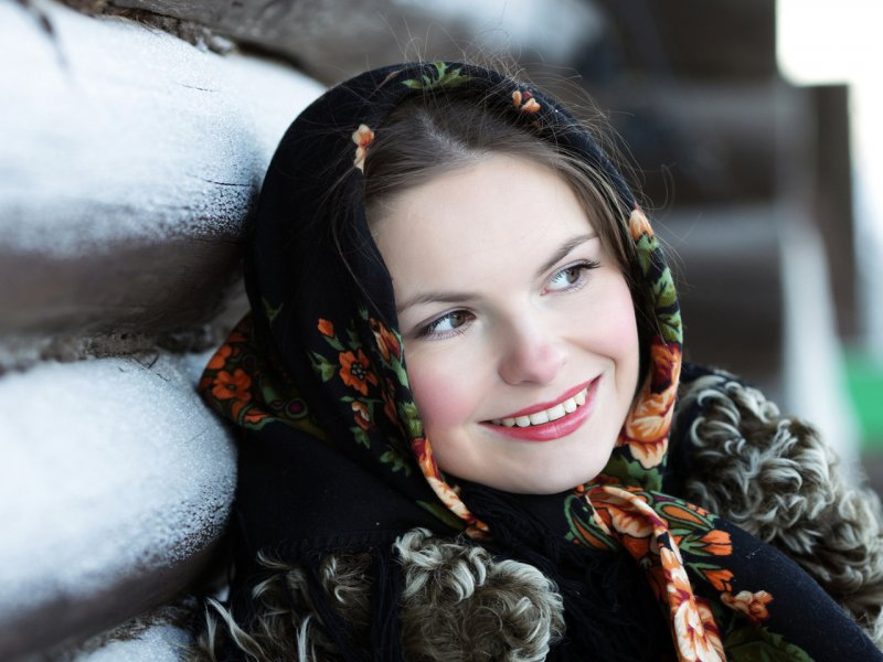 фото женщины русские