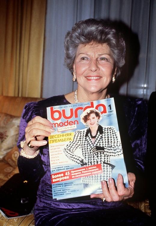 _____Энне Бурда в 40 лет создала издательство Burda, ориентированное на женщин________