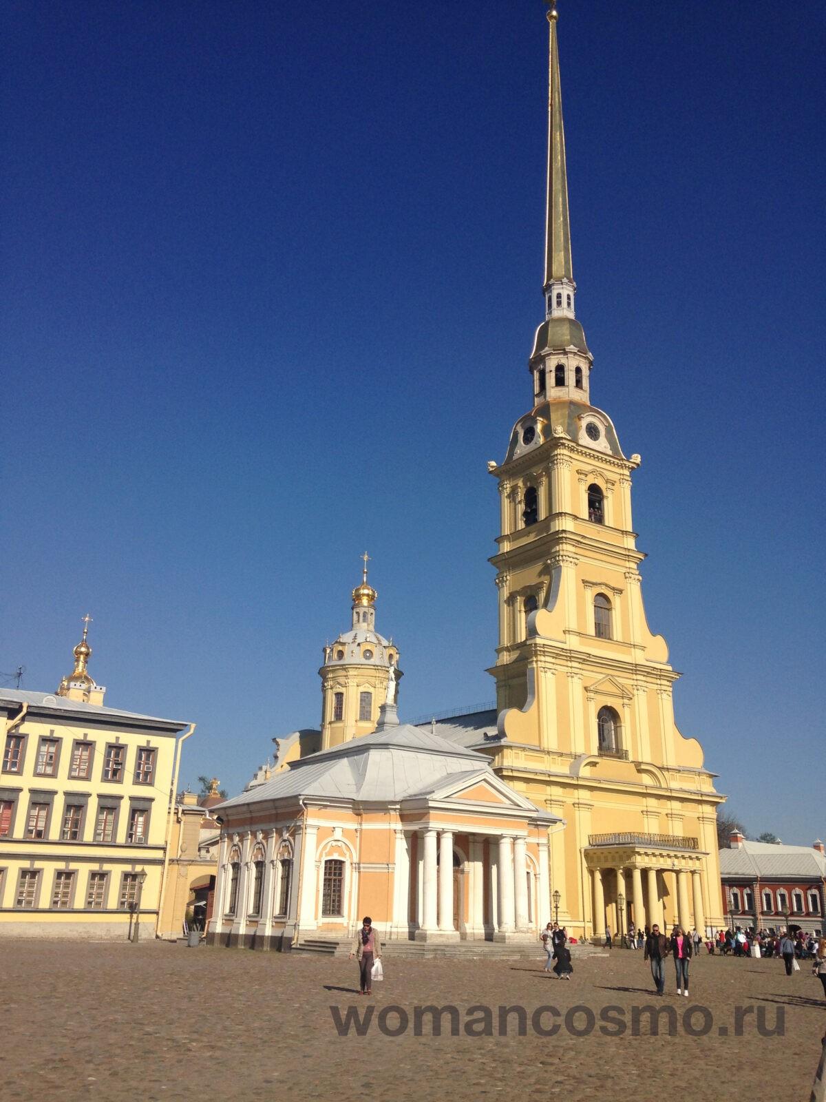 Редко такое небо бывает в Санкт-Петербурге
